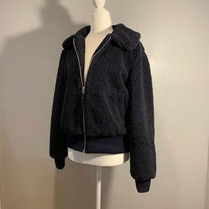 GAP Blue Sherpa Jacket